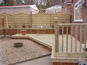 Decking suppliers | Williamsons Clitheroe Lancashire