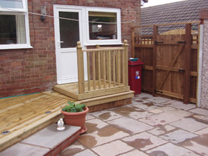 Decking services | Williamsons Clitheroe Lancashire