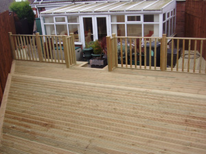 Decking fitters | Williamsons Clitheroe Lancashire