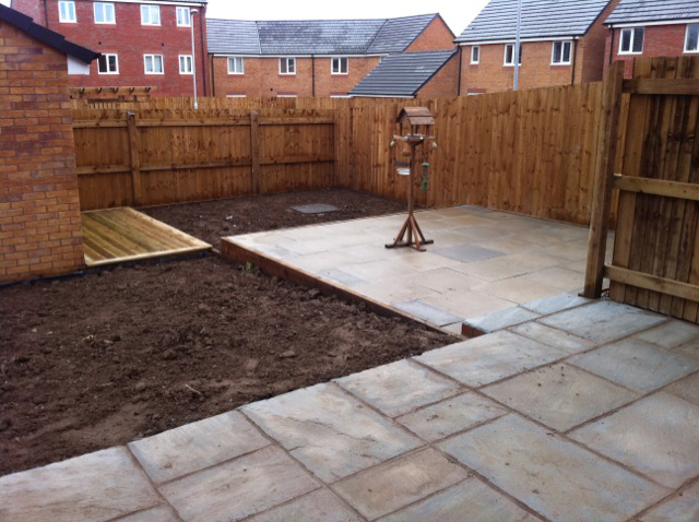 Flagging service | Williamsons Decking, Fencing & Flagging Suppliers and Services