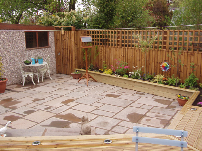 Flagging contractors | Williamsons Decking, Fencing & Flagging Suppliers and Services